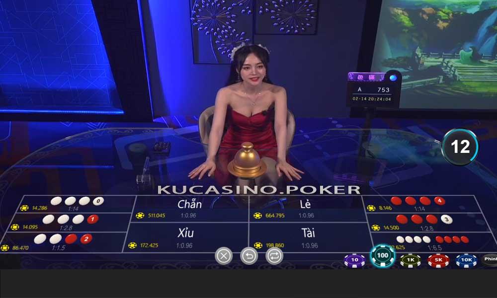 xóc đĩa ku casino