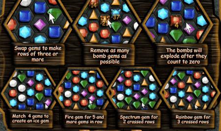 Trò chơi kim cương chéo và trò chơi kim cương màu phiên bản mới nhất