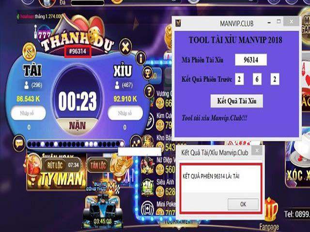 Tool tool Tai Xiu