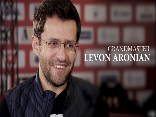 Levon aronian - kiện tướng cờ vua Armenia